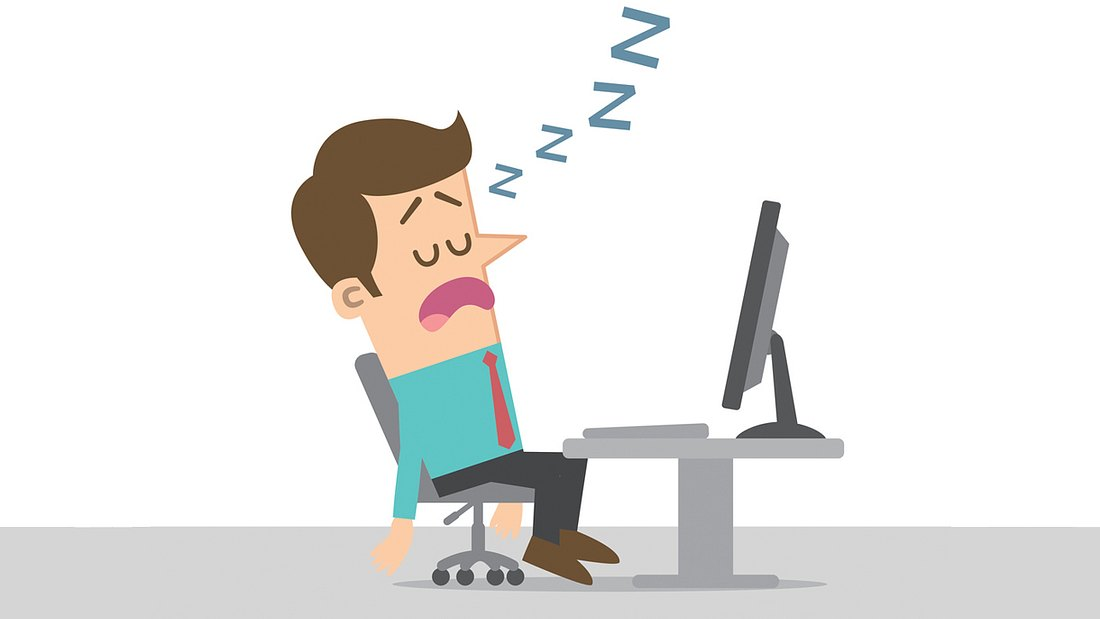 Studie: Ärzten bestätigen, dass auf der Arbeit schlafen wichtig ist