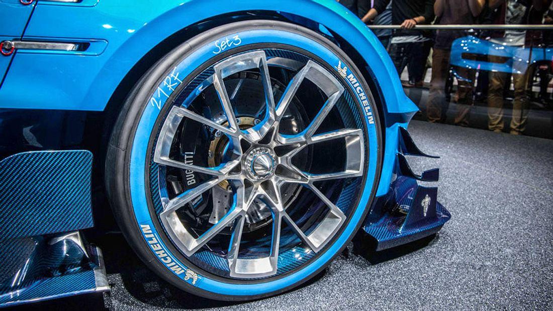 Für Bugatti und Co: Hightech-Reifen bis 400 km/h