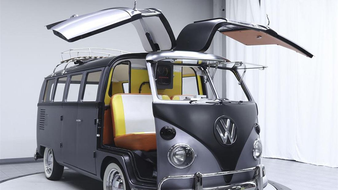 DeLorean-Bulli mit Flügeltüren: Autofetisch de luxe