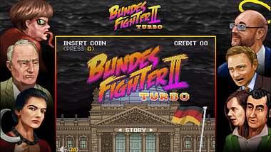 Bundes Fighter II im SNES-Style