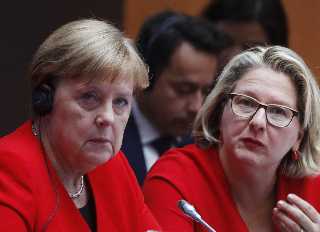 Angela Merkel, Svenja Schulze