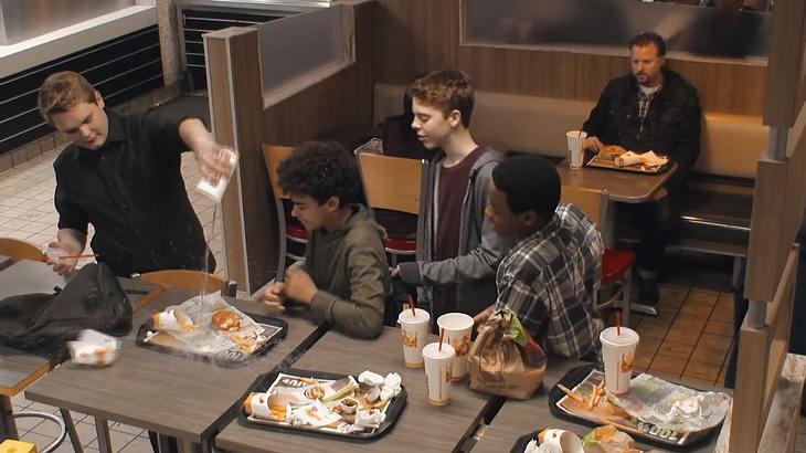 Burger King: Starke Anti-Mobbing-Kampagne
