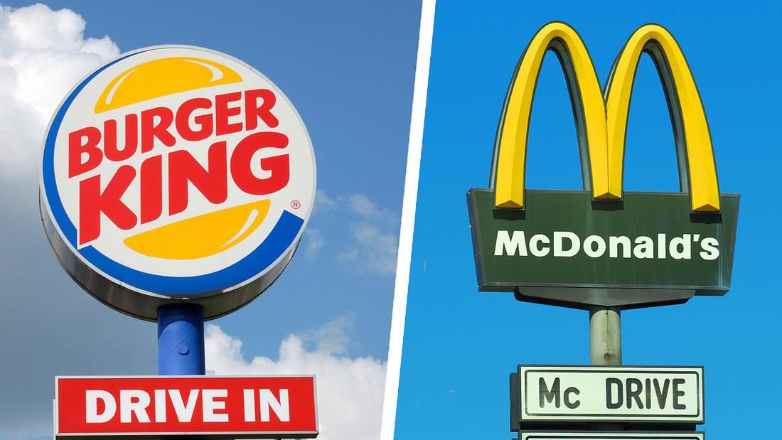 Burger King und McDonald's