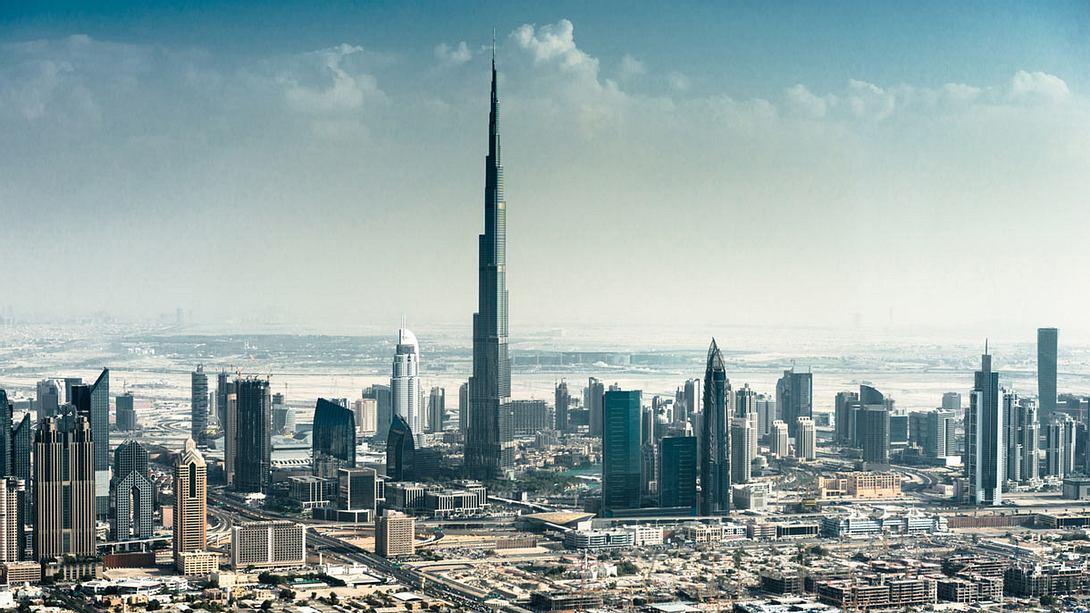 Das höchste Hochhaus der Welt: Burj Khalifa