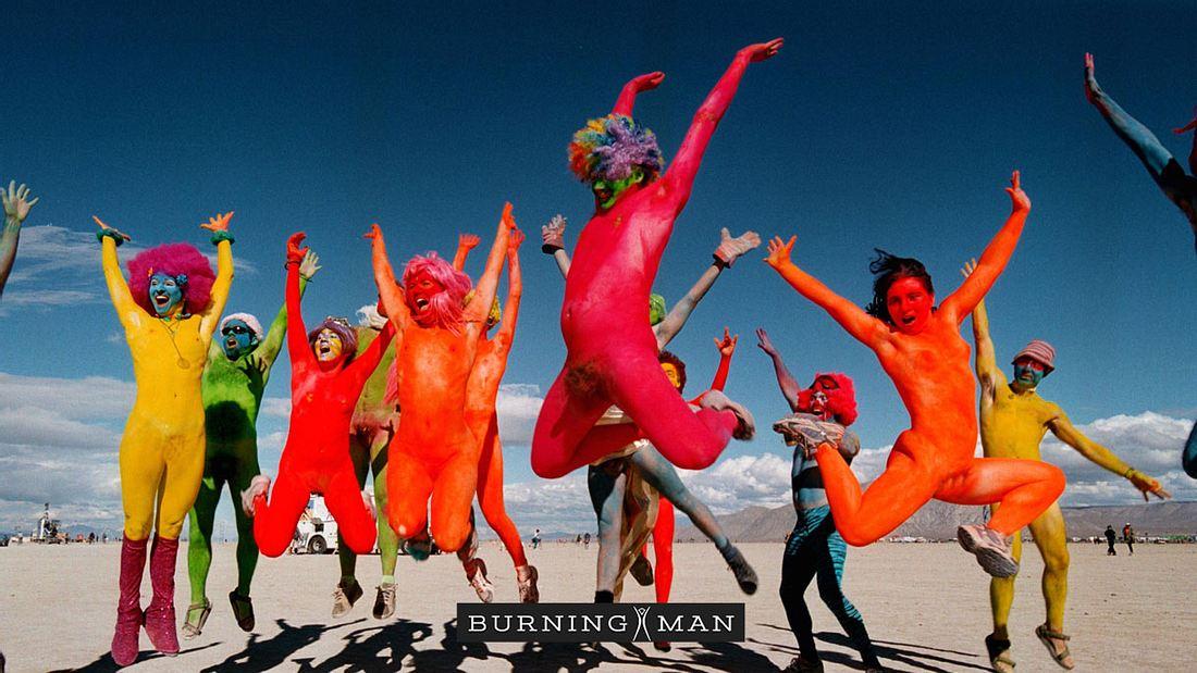 Burning Man-Festival in Nevada.