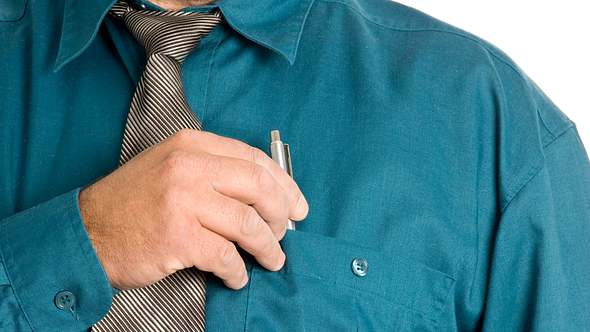Kündigungsfalle: Darf ich einen Kugelschreiber mit nach Hause nehmen?