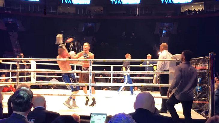 Steven Butler vs. Brandon Cook: Boxkampf endet in handfestem Skandal