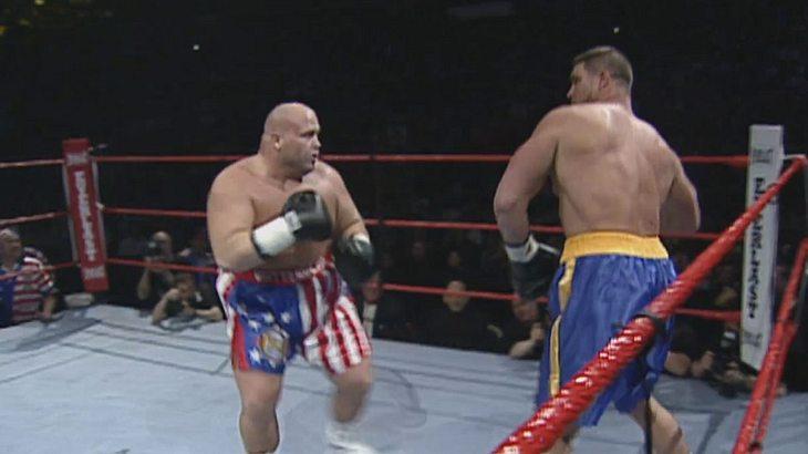 WWE-Wrestler Bart Gunn traf bei WrestleMania XV auf Boxer Butterbean