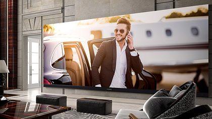 262 Zoll, 800 Kilo: Der größte 4K-Fernseher der Welt