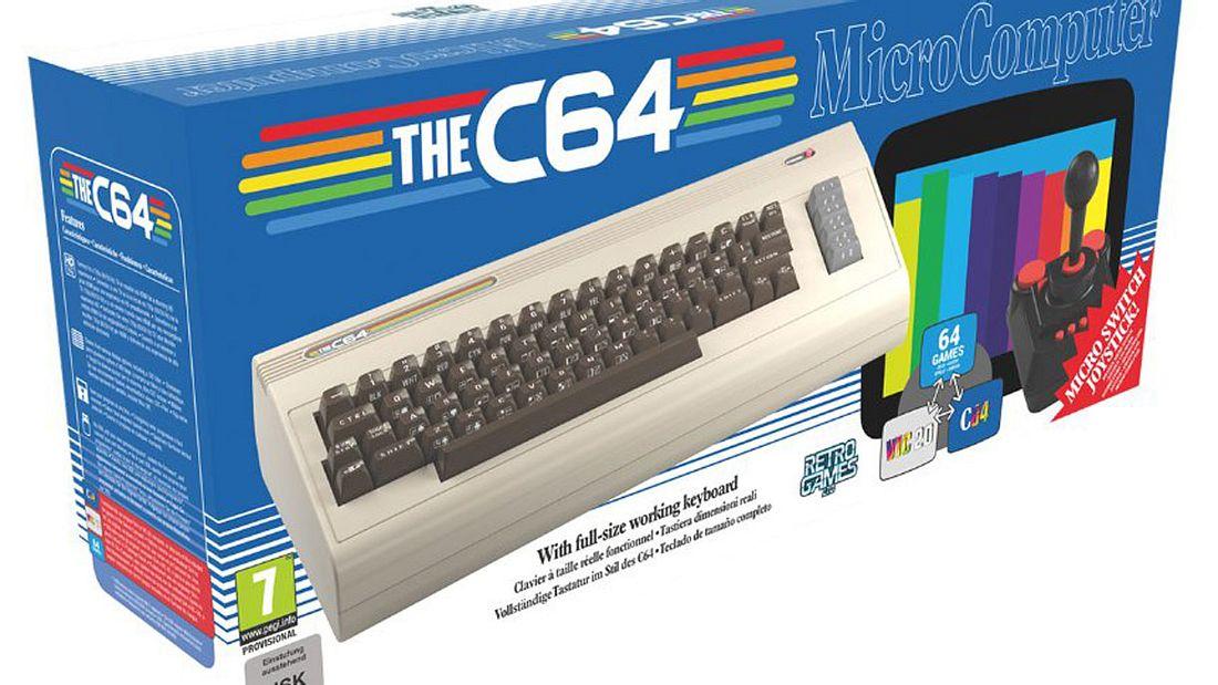 Neuauflage der Spielekonsole C64