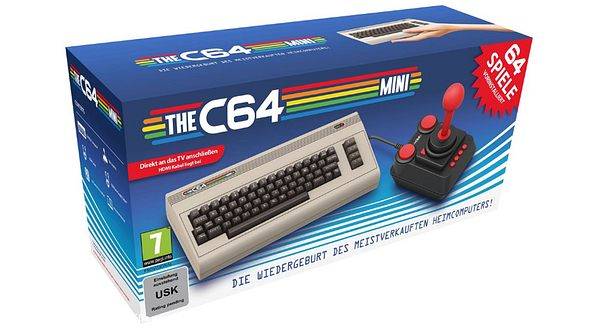 C64: Kult-Computer feiert Comeback als Konsole
