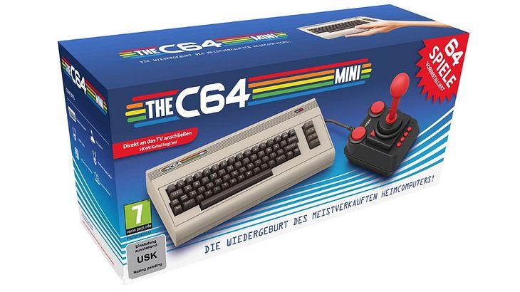 C64: Der legendäre Heimcomputer aus den 80ern bekommt eine Mini-Version