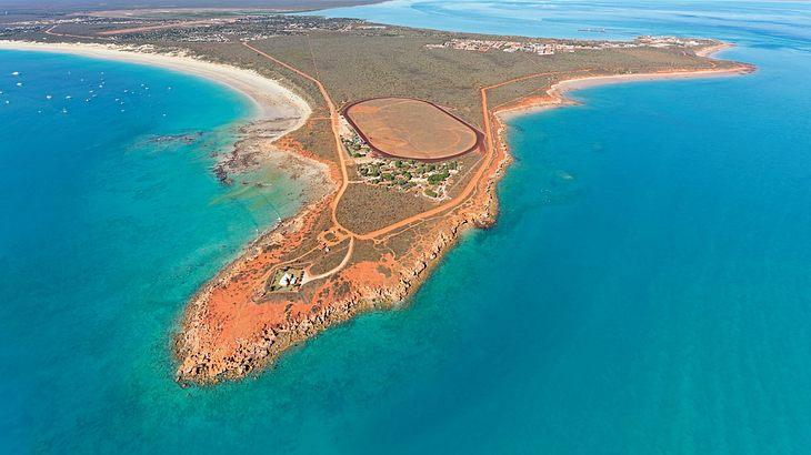 Gehört zu den gefährlichsten Stränden der Welt: Der Cable Beach in Australien