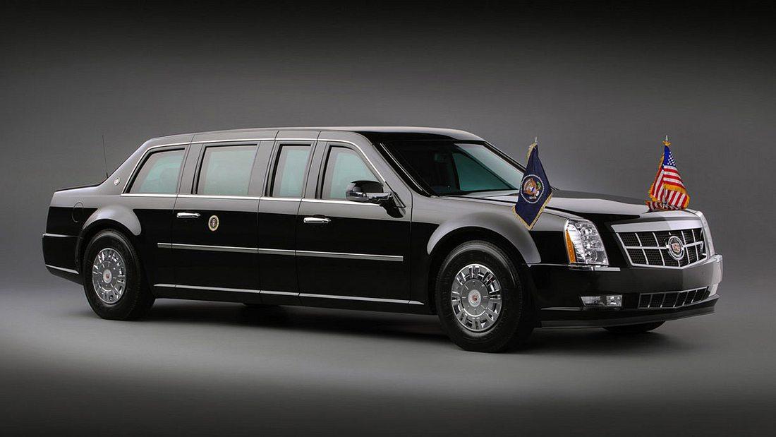 Cadillac One The Beast: Diese Limousine soll Donald Trump Schützen