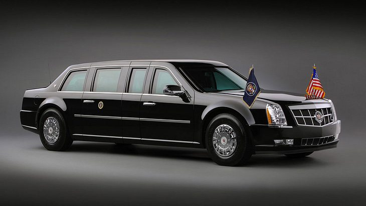 """Cadillac One """"The Beast"""": Das ist Trumps Staatslimousine"""