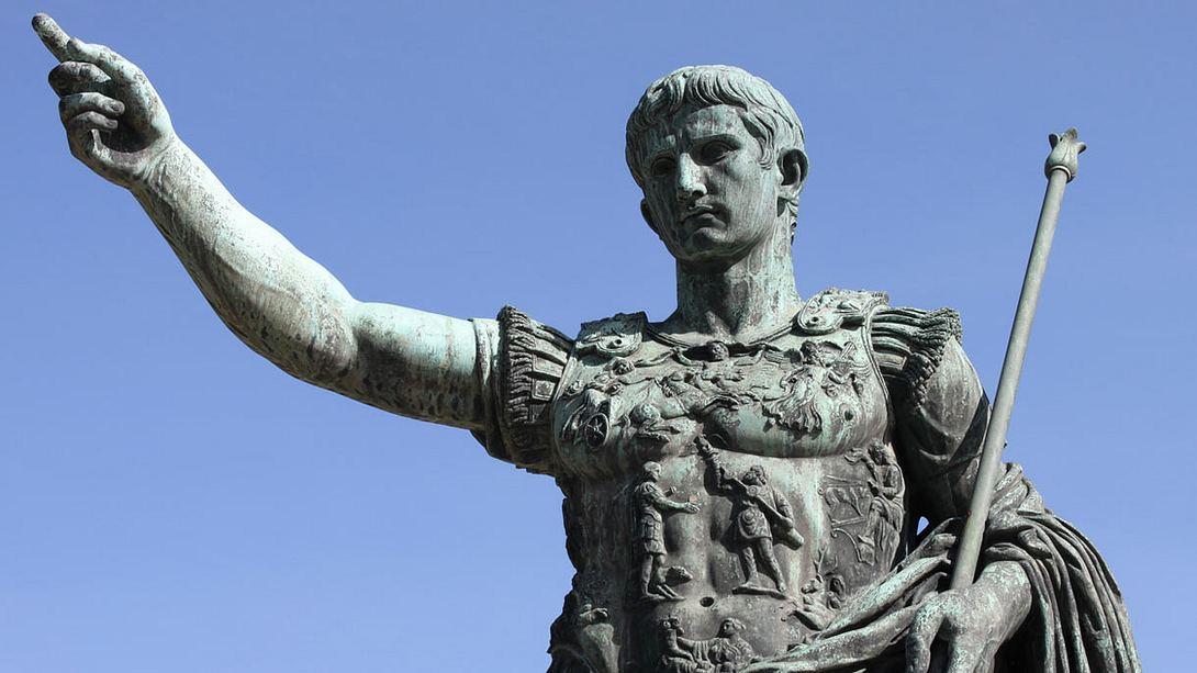 Caligula ist auch als Kaiser Augustus bekannt - Foto: iStock / alessandro0770