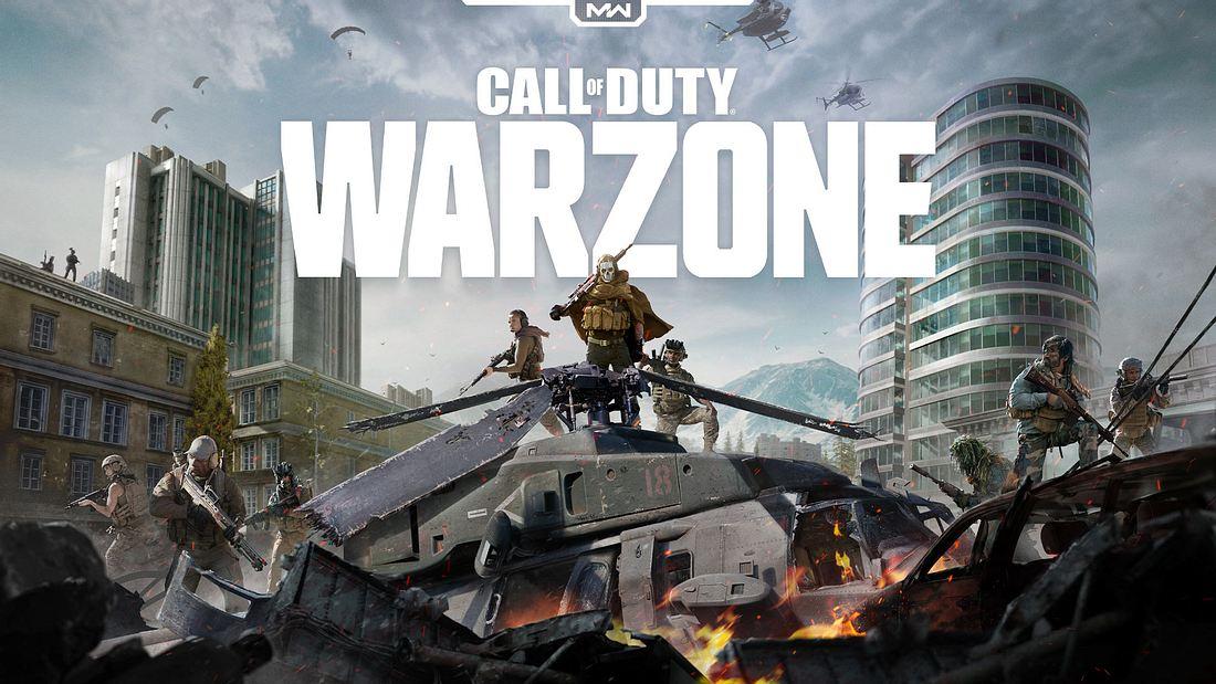 Titelbild der Warzone von Call of Duty