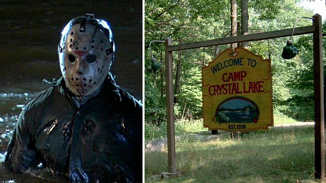 Jason Vorhees im Camp Crystal Lake