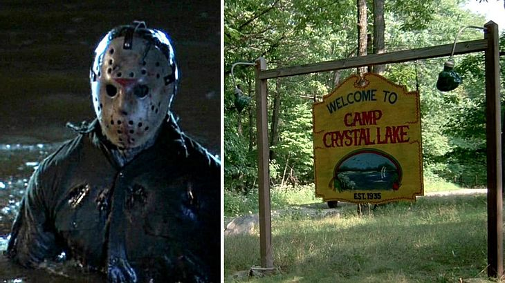 Jason Vorhees im Camp Crystal Lake