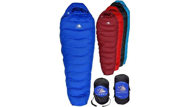 Dank Schlafsack kühlst du nachts nicht aus