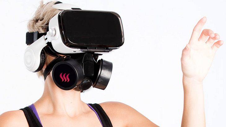CamSoda bietet mit seiner VR-Brille OhRoma Virtual-Reality-Pornos mit Geruch