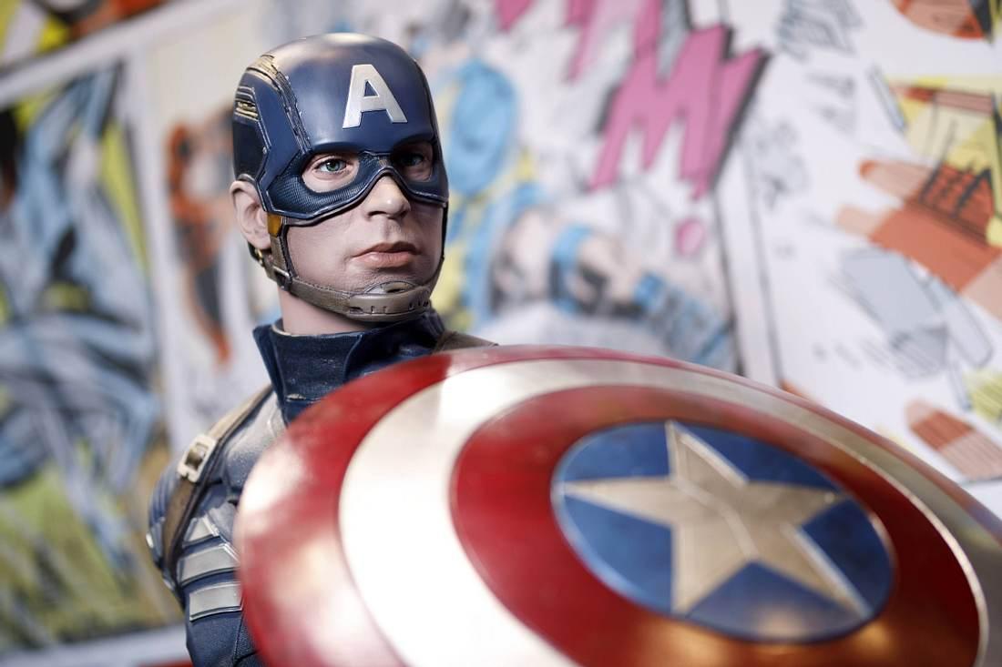 Figur von Captain America