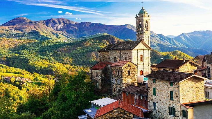 Castelcanafurone, Emilia-Romagna, Italien