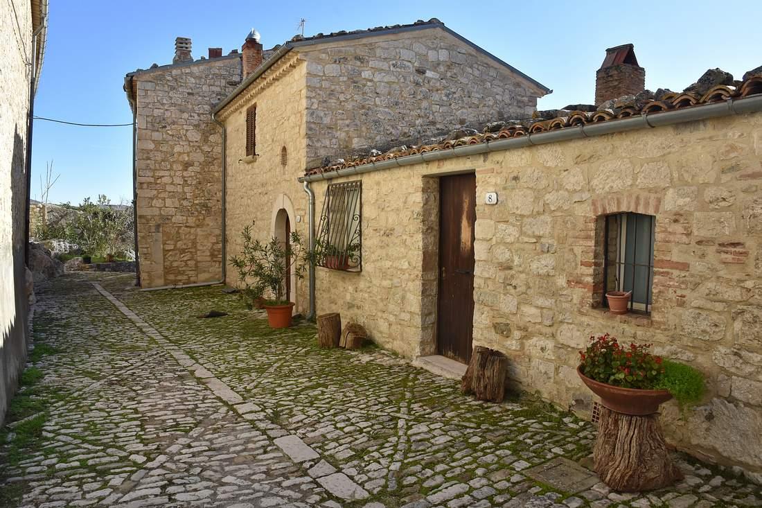 Häuser in Castropignano