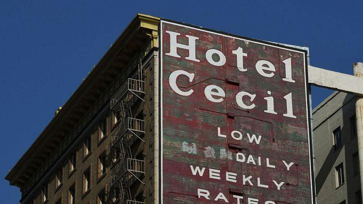 Das Cecil Hotel in Los Angeles.