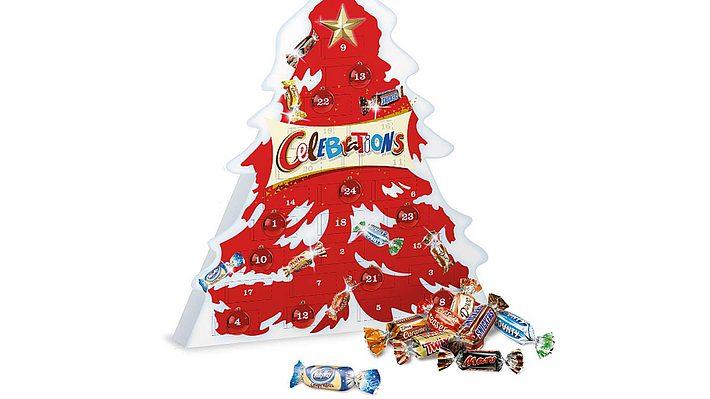 Türchen zwei des Celebrations-Adventskalenders löst Schock aus. - Foto: Mars Chocolate