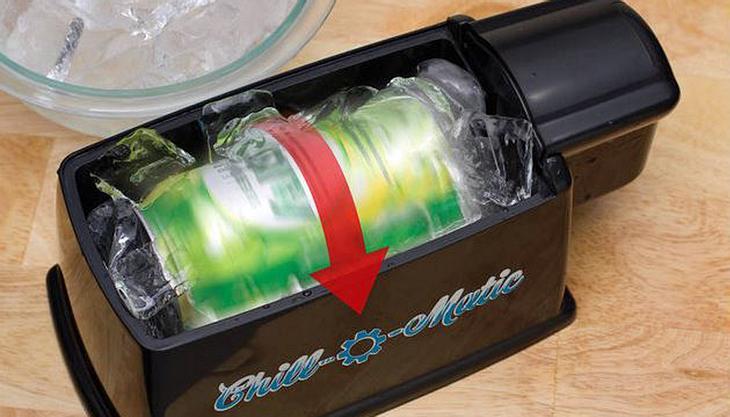 Der Chill-O-Matic-Bierkühler ist für rund 12 US-Dollar erhältlich