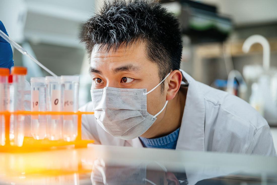 Chinesischer Forscher