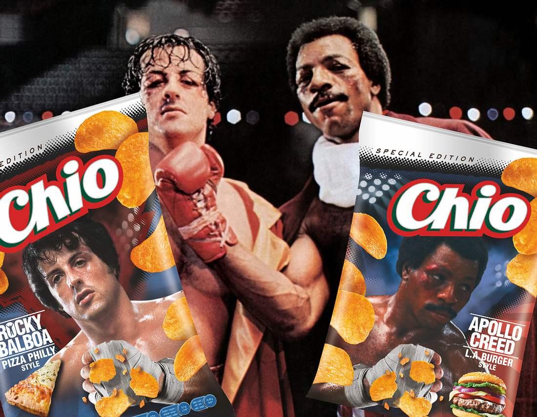 Rocky und Apollo zieren Chios Limited Edition