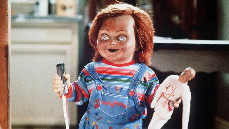 "Die Mörderpuppe Chucky in ""Child's Play"""