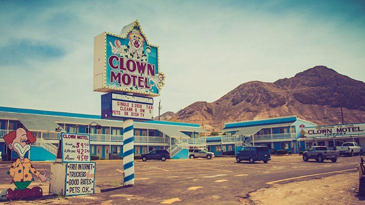 Clown Motel - das gruseligste Hotel der USA