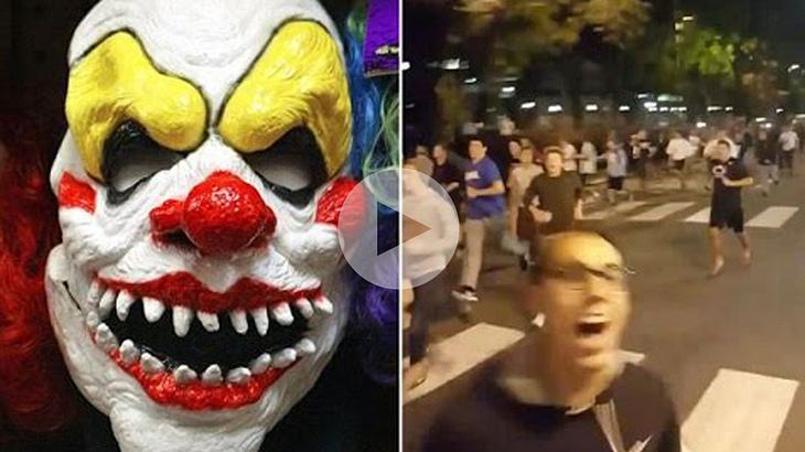 6.000 US-Studenten machen Jagd auf mysteriöse Horror-Clowns
