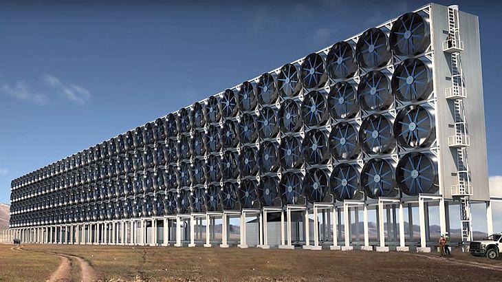 CO2-Filterwand