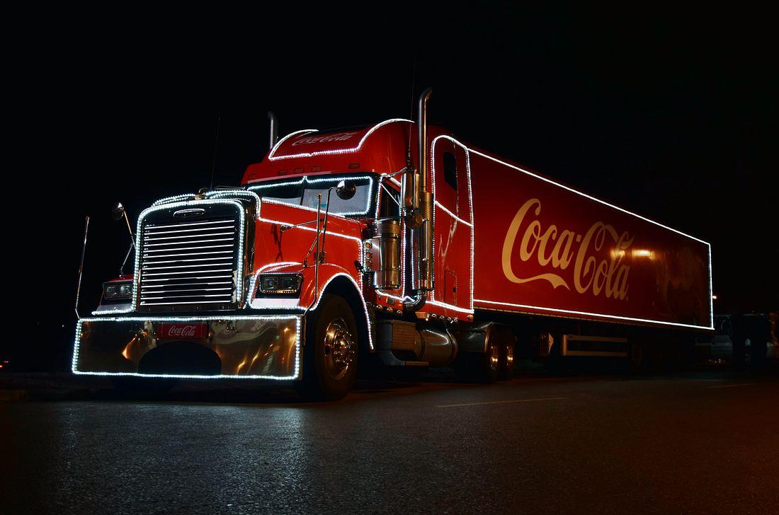 coca cola weihnachtstruck