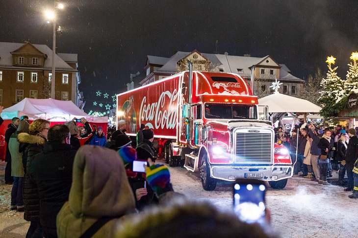 Coca-Cola-Weihnachtstruck 2018: Städte und Termine