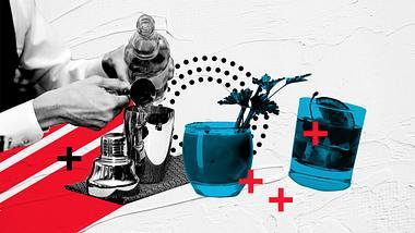 Cocktails mit Wodka: Die 5 besten Rezepte - Foto: iStock / StudioThreeDots / subjug / Kondor83