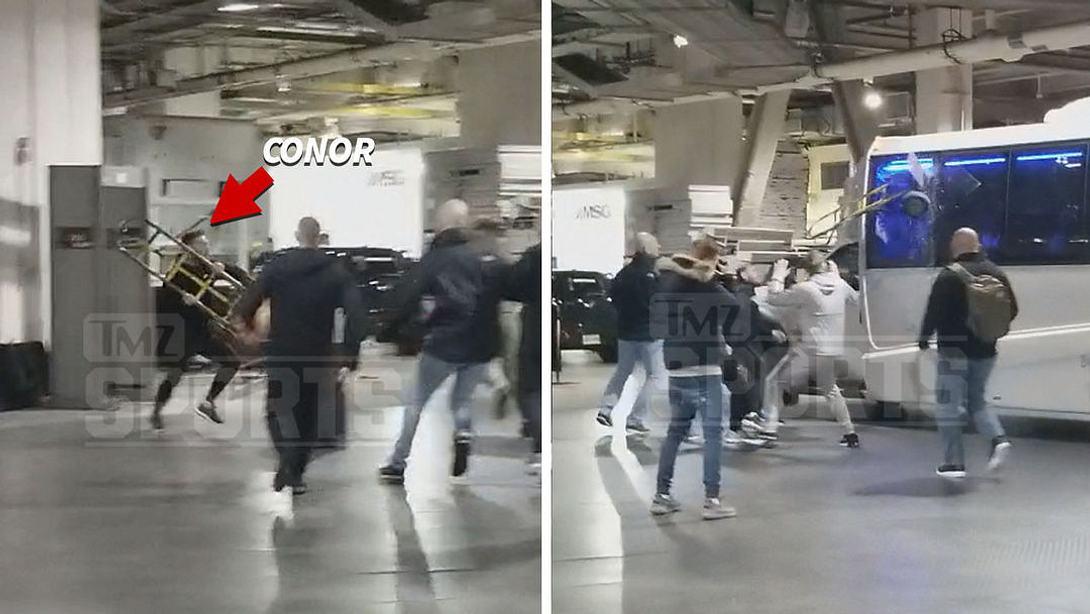 UFC-Superstar Conor McGregor greift Rivalen an - Video veröffentlicht