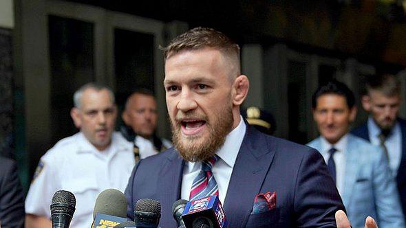 Nach Kneipen-Prügelei in Dublin: Jetzt äußert sich Conor McGregor