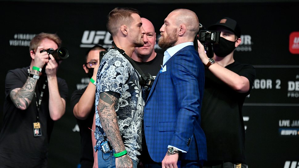 Conor McGregor vs. Dustin Poirier