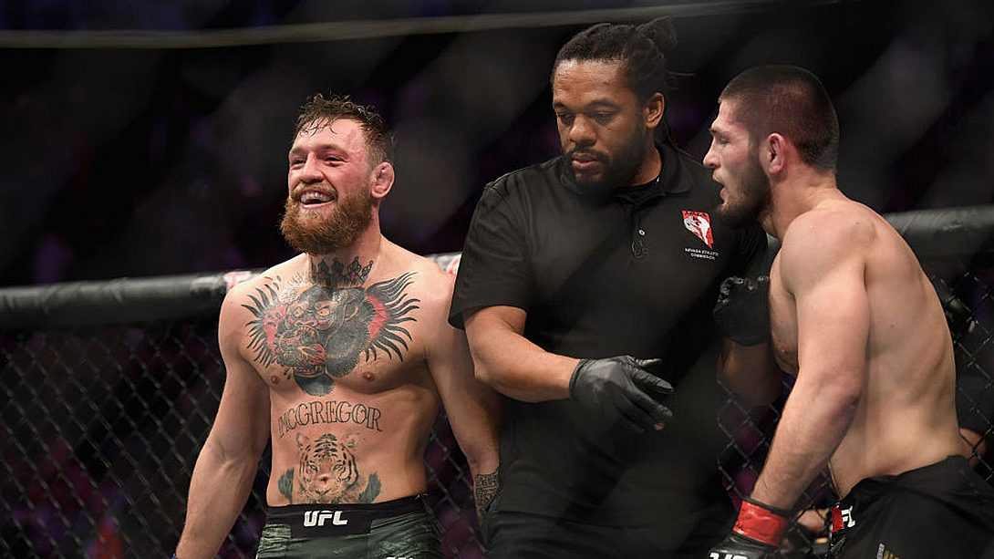 Conor McGregor hat Khabib Normagomedov drei Monate nach ihrem Kampf beleidigt. - Foto: Getty Images/Harry How