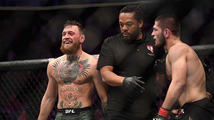 Conor McGregor hat Khabib Normagomedov drei Monate nach ihrem Kampf beleidigt.