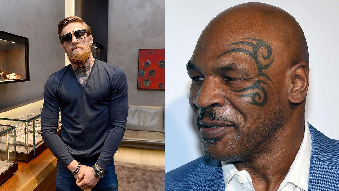 Conor McGregor und Mike Tyson begraben Kriegsbeil per Joint