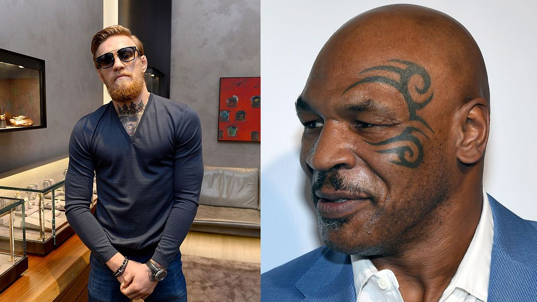 Conor McGregor und Mike Tyson
