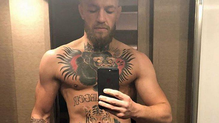 Conor McGregor wie Gott ihn schuf