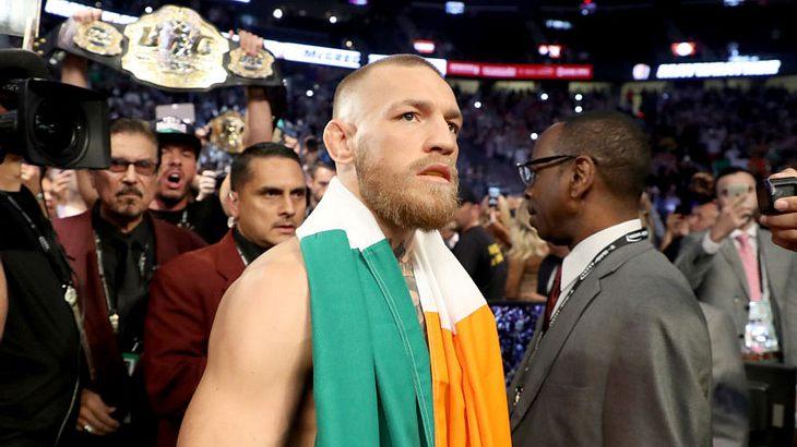 Gegen Conor McGregor laufen Untersuchungen wegen eines angeblichen Sexualdelikts (Symbolfoto).