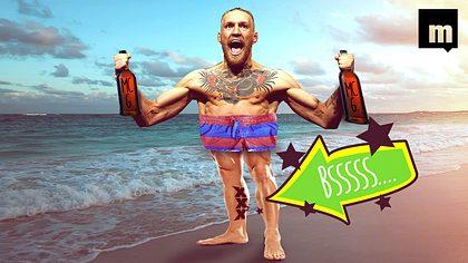 Ouch! Conor McGregor lässt sich 20-Euro-Tattoo im Vollsuff stechen